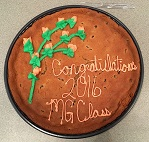 MG Class 1 cake