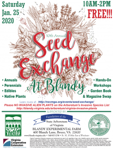 Seed Exchange 2020 Flyer