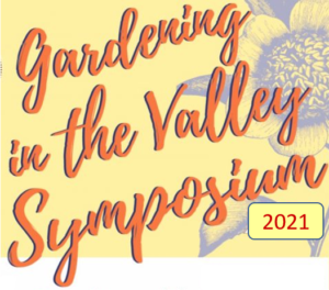 Gardening in the Valley Symposium graphic