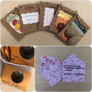 Creative Seed Packets