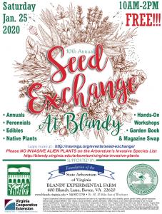 Seed Exchange 2020 Flyer